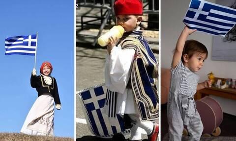 25η Μαρτίου: Τα φοβερά παιδιά του hashtag #GreekIndependenceDay