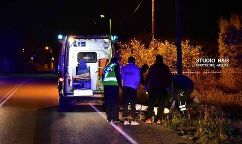 Τραγωδία στην Αργολίδα: Θανατηφόρο τροχαίο στην επαρχιακή οδό Ναυπλίου - Λυγουριού