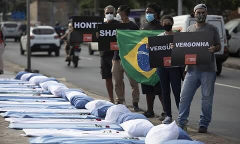 Κορονοϊός στη Βραζιλία: Για πρώτη φορά πάνω από 100.000 κρούσματα σε 24 ώρες