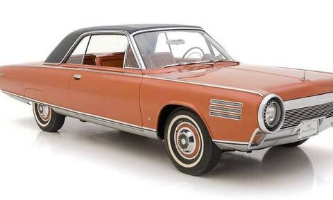 Αυτό το Chrysler του 1963 έχει κινητήρα… τζετ