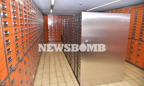 Κλοπή θυρίδων - Ρεπορτάζ Newsbomb.gr: Φωτογραφίες ντοκουμέντο από το «ριφιφί»