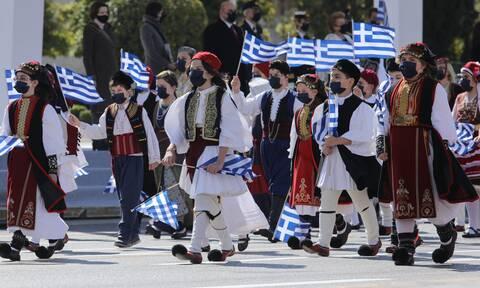 Συγκίνηση και υπερηφάνεια για τα 200 χρόνια από την Ελληνική Επανάσταση