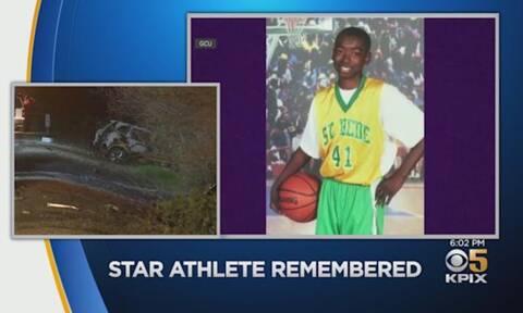 ΗΠΑ: Αστέρι του NCAA σκοτώθηκε σε φρικτή σύγκρουση με περιπολικό (videos+photos)