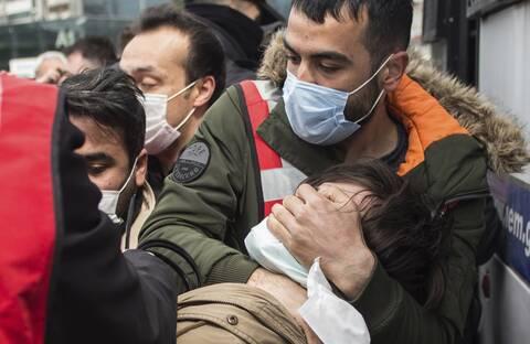 Τουρκία: Δεκάδες συλλήψεις σε διαδήλωση στην Κωνσταντινούπολη