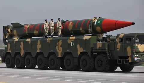 Δοκιμή βαλλιστικού πυραύλου από το Πακιστάν εν μέσω εντάσεων με την Ινδία