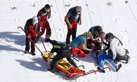 Τρομακτικό ατύχημα: Σε τεχνητό κώμα αθλητής του άλματος με σκι - Σκληρές εικόνες (video+photos)