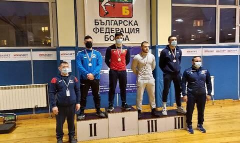 Πάλη: Ασημένιο μετάλλιο για τον Τσομπανούδη
