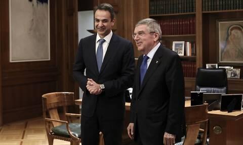 Έρχεται Αθήνα ο πρόεδρος της ΔΟΕ, Τόμας Μπαχ - Θα συναντηθεί με τον Κυριάκο Μητσοτάκη