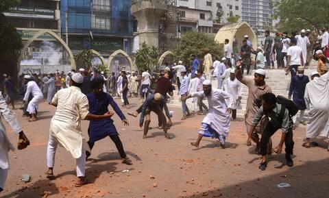 Μπαγκλαντές: Πέντε νεκροί σε διαδηλώσεις κατά της επίσκεψης του Ινδού πρωθυπουργού Ναρέντρα Μόντι