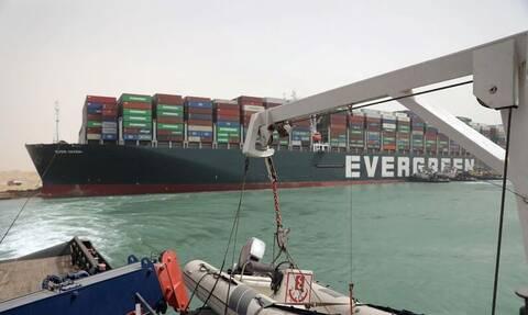 Διώρυγα του Σουέζ: Η Ελλάδα πρόθυμη να στείλει βοήθεια στη ρυμούλκηση του Ever Given