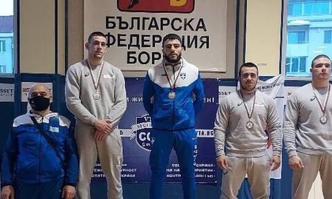 Πάλη: Χρυσός ο Παγκαλίδης – Συνολικά πέντε μετάλλια η Ελλάδα!