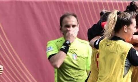 Απίθανο γκολ παίκτριας της Ρόμα! - «Τρελάθηκε» κι ο επόπτης (video+photos)