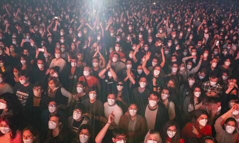 Συναυλία - πείραμα στη Βαρκελώνη: 5.000 θεατές με rapid test και μάσκες