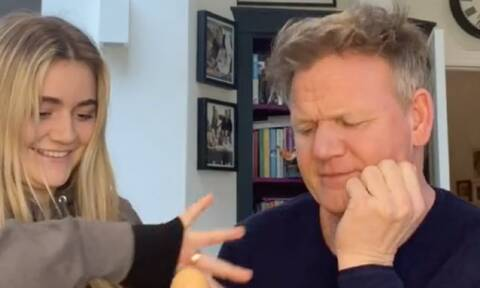 Gordon Ramsay: Το φυσάει & δεν κρυώνει - Η φάρσα που του έκανε η κόρη του