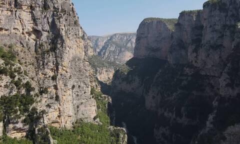 Μονοδένδρι: Το πιο επικίνδυνο μονοπάτι της Ελλάδας (video)
