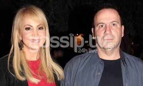 Τέτα Καμπουρέλη: Στο σκοπευτήριο όσο ο σύζυγός της κρατείται για το ριφιφί - Αποκλειστικές φωτό
