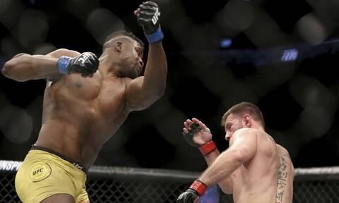 UFC: Νέος «βασιλιάς» ο Ενγκάνου – Το «τρομακτικό» νοκ άουτ του! (videos)