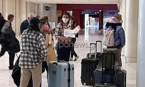 Χανιά - Κορονοϊός: Κι όμως τέλη Μαρτίου έφθασαν οι πρώτοι τουρίστες (pics - vid)
