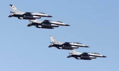 Πολεμική Αεροπορία: Εικόνες που «τρελαίνουν» τον Ερντογάν - Μαζί τα «γεράκια» Ελλάδας και Σ. Αραβίας
