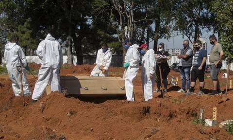 Κορονοϊός στη Βραζιλία: Πάνω από 12,5 εκατομμύρια τα κρούσματα - Τους 312.006 έφτασαν οι νεκροί