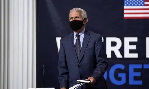 Κορονοϊός στις ΗΠΑ - Φάουτσι: Πρόωρο το τέλος των περιοριστικών μέτρων σε κάποιες πολιτείες