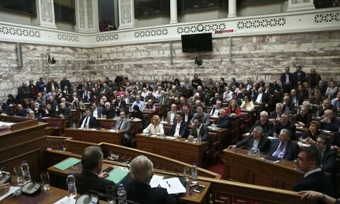 Βουλή: Προ ημερησίας συζήτηση για την πανδημία την Παρασκευή