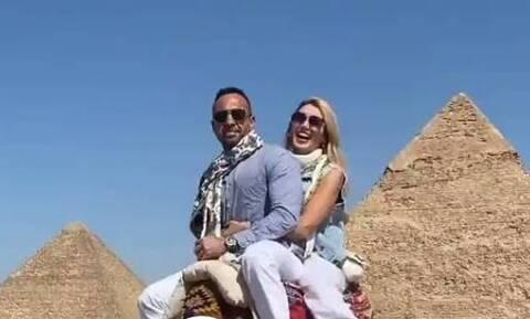 Σπυροπούλου: Στην Αίγυπτο για σαφάρι με καμήλες η παρουσιάστρια