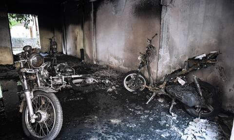 Εμπρησμός στην Καλαμαριά: Οπαδική βία «βλέπουν» οι διωκτικές Αρχές