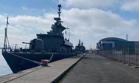 Πολεμικό Ναυτικό: Συμεττοχή του ΤΠΚ «ΚΡΥΣΤΑΛΛΙΔΗΣ» στην Πολυεθνική Άσκηση «SEA SHIELD 21»