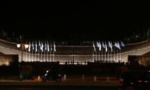 Παναθηναϊκό Στάδιο: Εντυπωσιάζει ο νέος φωτισμός - Δείτε φωτογραφίες