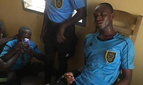 Σοκ στην Γκάνα: Άγριος ξυλοδαρμός διαιτητών από οπαδούς - Σκληρές εικόνες (video+photos)