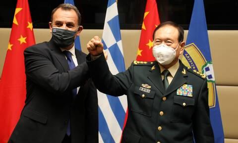 Νίκος Παναγιωτόπουλος: Τι συζήτησε με τον Κινέζο υπουργό Άμυνας στο «Πεντάγωνο»