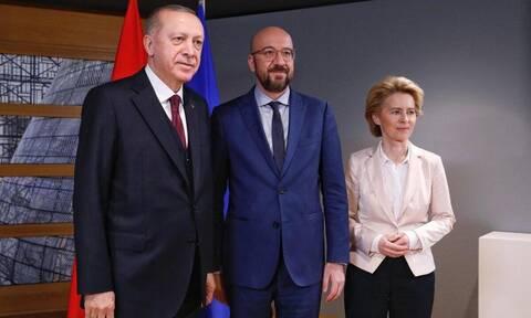 Ευρώπη των... υποτακτικών: Ούρσουλα και Μισέλ πάνε Τουρκία για συνάντηση με τον Ερντογάν