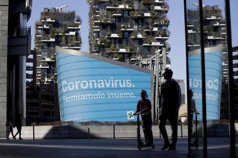 Ιταλία: Καραντίνα 5 ημερών για ταξιδιώτες από την ΕΕ