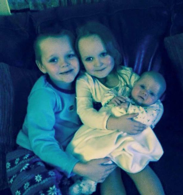 0 Worsley house fire children killed