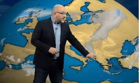 Καιρός - Αρναούτογλου: Χωρισμένη στα δύο η Ελλάδα - Τι θα συμβεί το επόμενο 48ωρο (vid)
