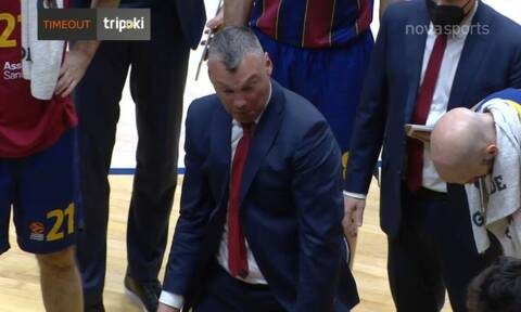 Euroleague: Απολαυστικός Γιασικεβίτσιους! - Η επική αντίδραση σε τάιμ άουτ (video)