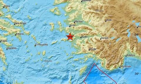 Σεισμός κοντά στη Σάμο - Αισθητός στο νησί (pics)