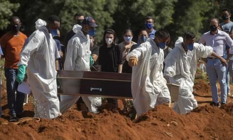Κορονοϊός στη Βραζιλία: Τραγικό ρεκόρ 3.780 θανάτων σε 24 ώρες