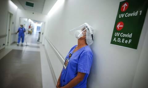 Σαρώνει ο κορονοϊός τη Βραζιλία: Πεθαίνει το 83,5% των διασωληνωμένων ασθενών