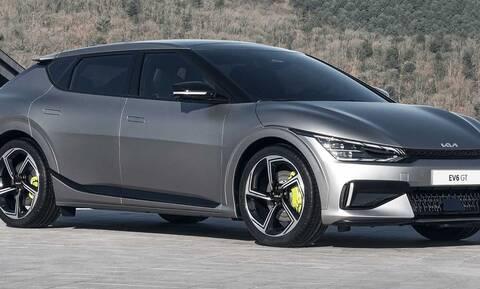 """Kia EV6: Εντυπωσιακό ηλεκτρικό SUV με έως 585 άλογα και 0-100 χλμ/ώρα σε 3,5""""!"""