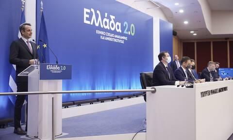 Σχέδιο «Ελλάδα 2.0»: Αυτά είναι τα 170 έργα που θα δημιουργήσουν καλοπληρωμένες θέσεις εργασίας