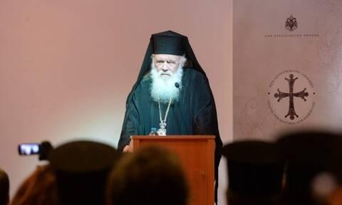 Αρχιεπίσκοπος Ιερώνυμος: «Δώστε μας μία σπίθα και θα κάνουμε φωτιά που θα ζεστάνει τον κόσμο»
