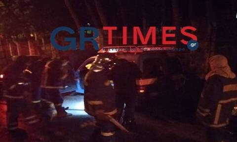 Φωτιά στη Θεσσαλονίκη: Στόχος εμπρηστών όχημα του ΟΤΕ