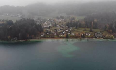 «Πετώντας» πάνω από τη λίμνη Fuschl και τα Αλπικά λιβάδια της Αυστρίας (video)