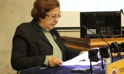 Κύπρος: Πέθανε η πρώην Υπουργός Παιδείας Κλαίρη Αγγελίδου