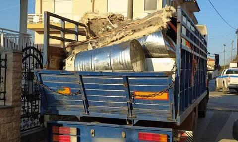 Έβρος: Δουλέμποροι έκρυβαν μετανάστες μέσα σε παλιοσίδερα