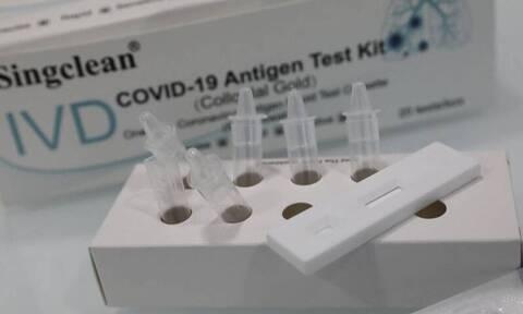 «Αγώνας δρόμου» για το σχέδιο διανομής των self tests στα φαρμακεία – Το χρονοδιάγραμμα