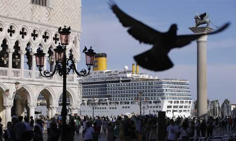 Βενετία: Τέλος τα κρουαζιερόπλοια από το ιστορικό κέντρο