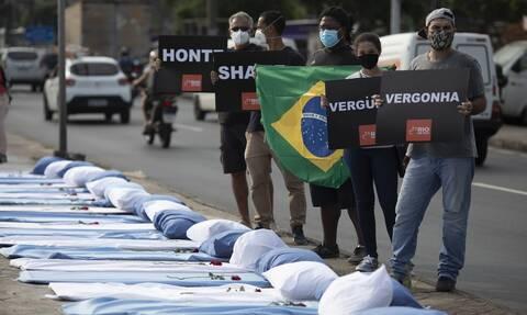 Εκτός ελέγχου ο κορονοϊός στη Βραζιλία: 3.769 θάνατοι και πάνω από 91.000 κρούσματα σε 24 ώρες